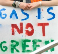 Gas is not green